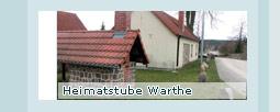 Heimatstube Warthe